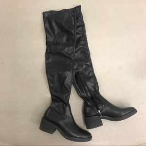 Zara over the knee boots size 39